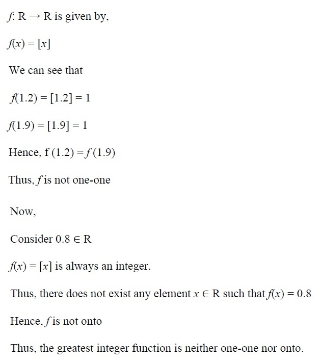 NCERT Solutions for CBSE Class 12th Maths, Chapter 1: Relations and Functions, Exercise 1.2, Solution No. 3