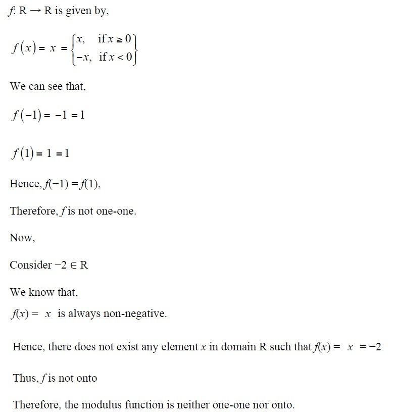NCERT Solutions for CBSE Class 12th Maths, Chapter 1: Relations and Functions, Exercise 1.2, Solution No. 4