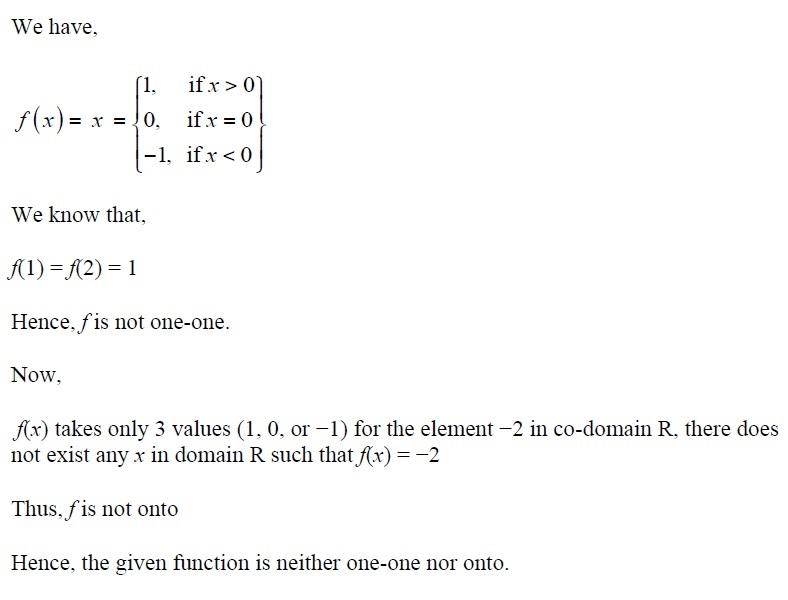 NCERT Solutions for CBSE Class 12th Maths, Chapter 1: Relations and Functions, Exercise 1.2, Solution No. 5