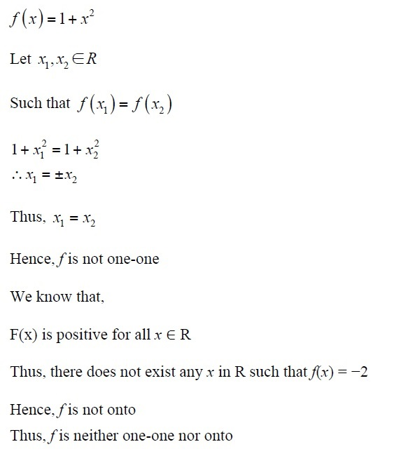 NCERT Solutions for CBSE Class 12th Maths, Chapter 1: Relations and Functions, Exercise 1.2, Solution No. 7 (ii)
