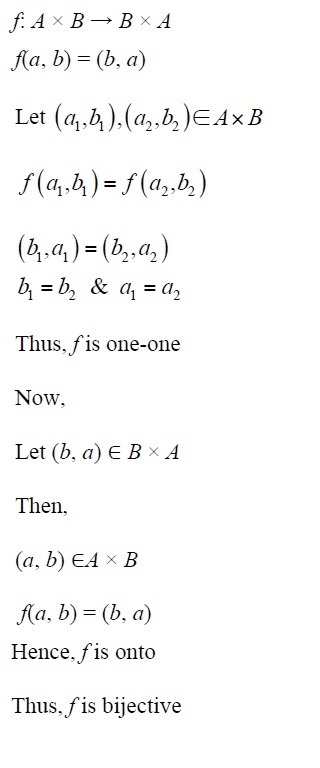 NCERT Solutions for CBSE Class 12th Maths, Chapter 1: Relations and Functions, Exercise 1.2, Solution No. 8