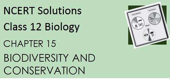 NCERT Solutions' PDF, CBSE Class 12 Biology, Chapter 15