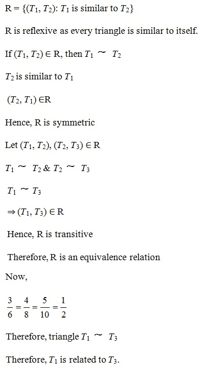 NCERT Solutions for Class 12 Maths - Chapter 1: Relations and Functions, Exercise 1.1 – Solution 12