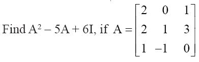 NCERT Solutions for CBSE Class 12 Mathematics ‒ Chapter 3: Matrices (Exercise 3.2) Question 15