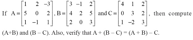 NCERT Solutions for Class 12 Mathematics ‒ Chapter 3: Matrices (Exercise 3.2; question 4)