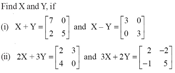 NCERT Solutions for Class 12 Mathematics ‒ Chapter 3: Matrices (Exercise 3.2; question 7)