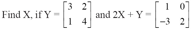 NCERT Solutions for Class 12 Mathematics ‒ Chapter 3: Matrices (Exercise 3.2; question 8)