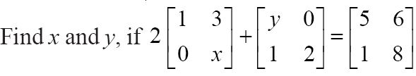 NCERT Solutions for Class 12 Mathematics ‒ Chapter 3: Matrices (Exercise 3.2; question 9)