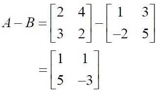 NCERT Solutions for Class 12 Mathematics ‒ Chapter 3: Matrices (Exercise 3.2; solution 1 - ii)