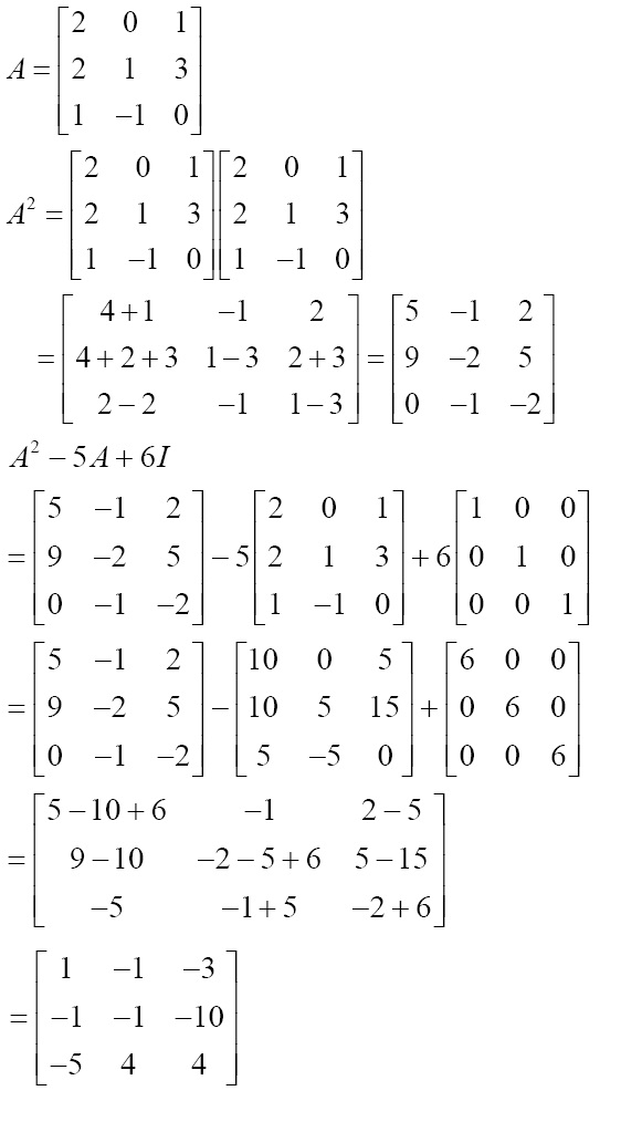 NCERT Solutions for CBSE Class 12 Mathematics ‒ Chapter 3: Matrices (Exercise 3.2) Solution 15