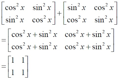 NCERT Solutions for Class 12 Mathematics ‒ Chapter 3: Matrices (Exercise 3.2; solution 2 - iii)