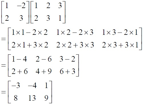 NCERT Solutions for Class 12 Mathematics ‒ Chapter 3: Matrices (Exercise 3.2; solution 3 - iii)
