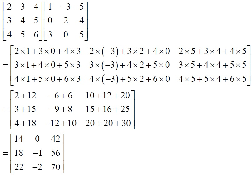 NCERT Solutions for Class 12 Mathematics ‒ Chapter 3: Matrices (Exercise 3.2; solution 3 - iv)