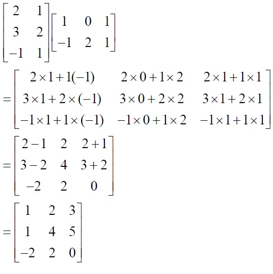 NCERT Solutions for Class 12 Mathematics ‒ Chapter 3: Matrices (Exercise 3.2; solution 3 - v)