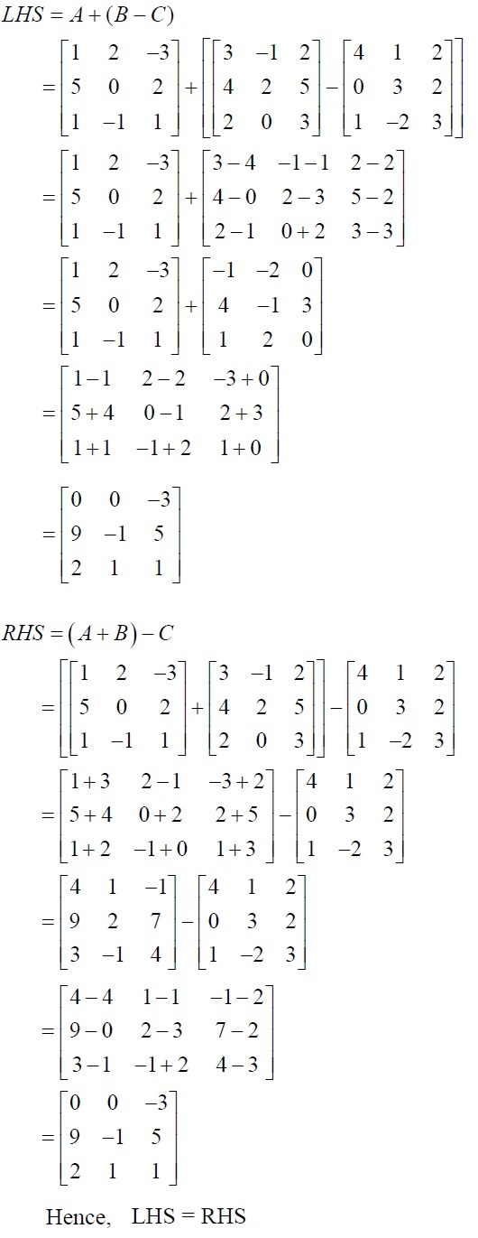 NCERT Solutions for Class 12 Mathematics ‒ Chapter 3: Matrices (Exercise 3.2; solution 4)