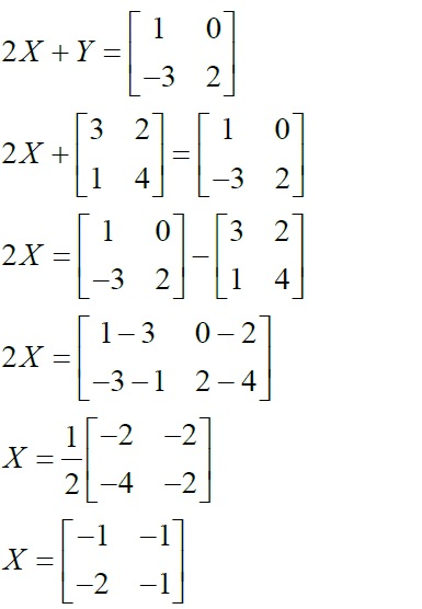 NCERT Solutions for Class 12 Mathematics ‒ Chapter 3: Matrices (Exercise 3.2; solution 8)