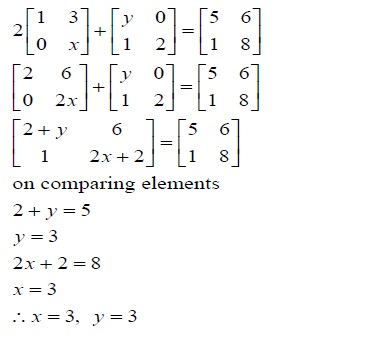 NCERT Solutions for Class 12 Mathematics ‒ Chapter 3: Matrices (Exercise 3.2; solution 9)