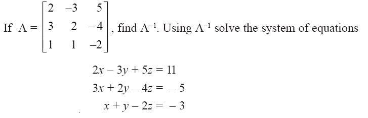 NCERT Solutions for CBSE Class 12 Mathematics ‒ Chapter 4: Determinant (Question 15)