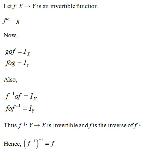 NCERT Solutions for CBSE Class 12th Maths, Chapter 1: Relations and Functions, Exercise 1.3, Solution 12