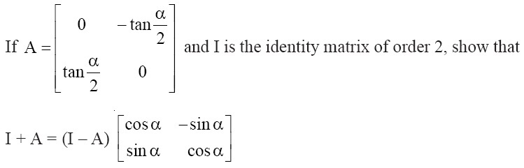 NCERT Solutions for CBSE Class 12 Mathematics ‒ Chapter 3: Matrices, Question 18