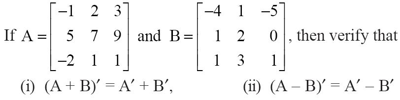 NCERT Solutions for CBSE Class 12 Mathematics ‒ Chapter 3: Matrices (Exercise 3.3, Question 2)