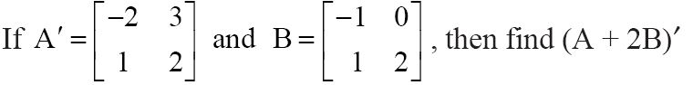 NCERT Solutions for CBSE Class 12 Mathematics ‒ Chapter 3: Matrices (Exercise 3.3, Question 4)