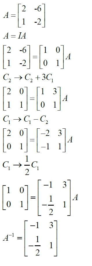 NCERT Solutions for Class 12 Maths: Chapter 3: Matrices (Exercise 3.4, Solution 11)