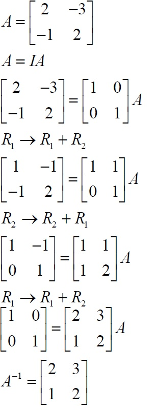 NCERT Solutions for Class 12 Maths: Chapter 3: Matrices (Exercise 3.4, Solution 13)