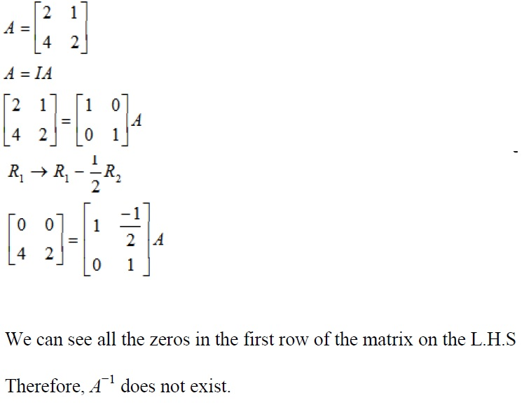 NCERT Solutions for Class 12 Maths: Chapter 3: Matrices (Exercise 3.4, Solution 14)