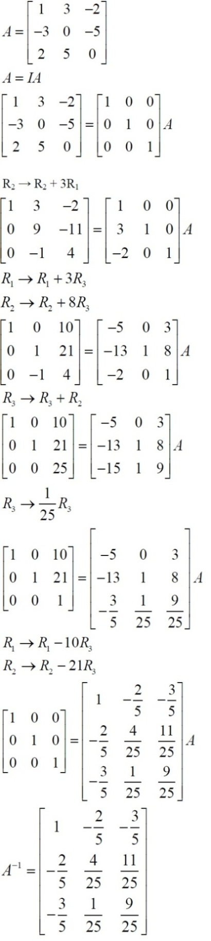 NCERT Solutions for Class 12 Maths: Chapter 3: Matrices (Exercise 3.4, Solution 16)