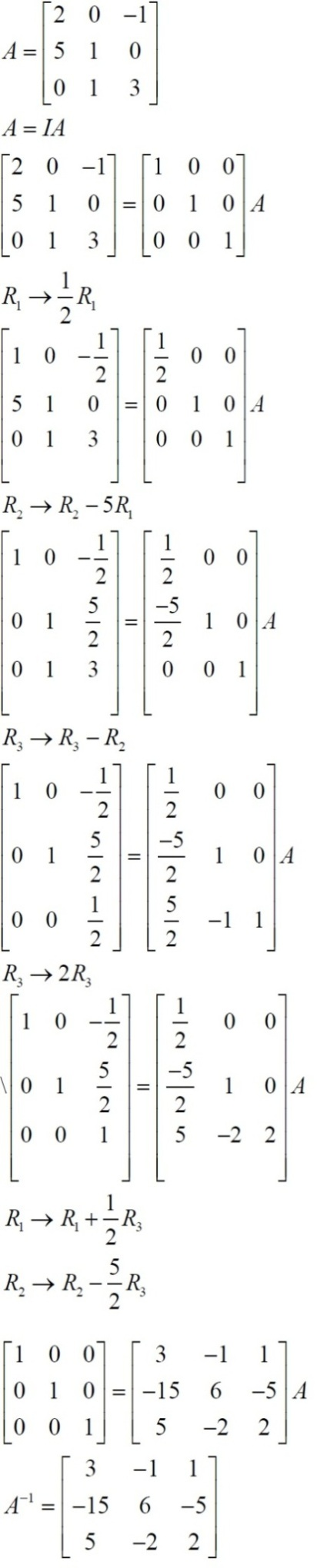 NCERT Solutions for Class 12 Maths: Chapter 3: Matrices (Exercise 3.4, Solution 17)