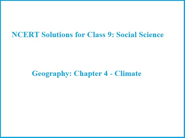 NCERT Solutions for Class 9: Chapter 4