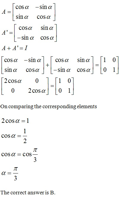 NCERT Solutions for CBSE Class 12 Mathematics ‒ Chapter 3: Matrices (Exercise 3.3, Solution 12)