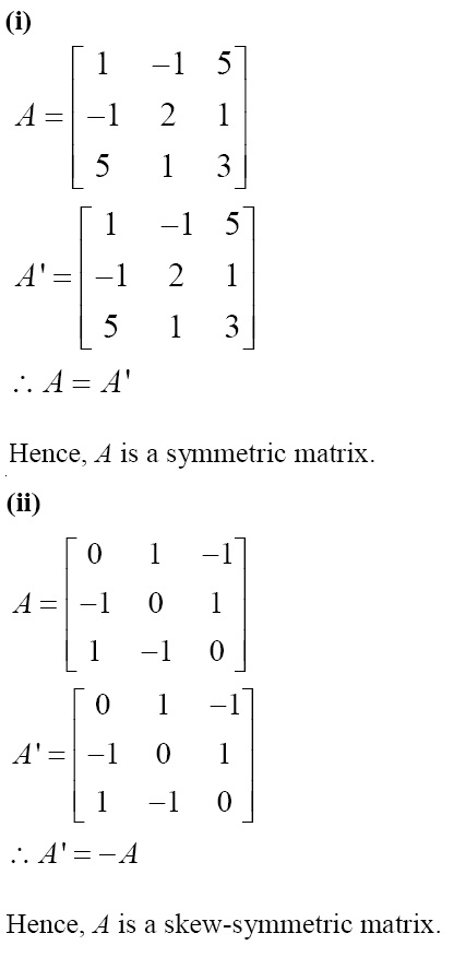 NCERT Solutions for CBSE Class 12 Mathematics ‒ Chapter 3: Matrices (Exercise 3.3, Solution 7)