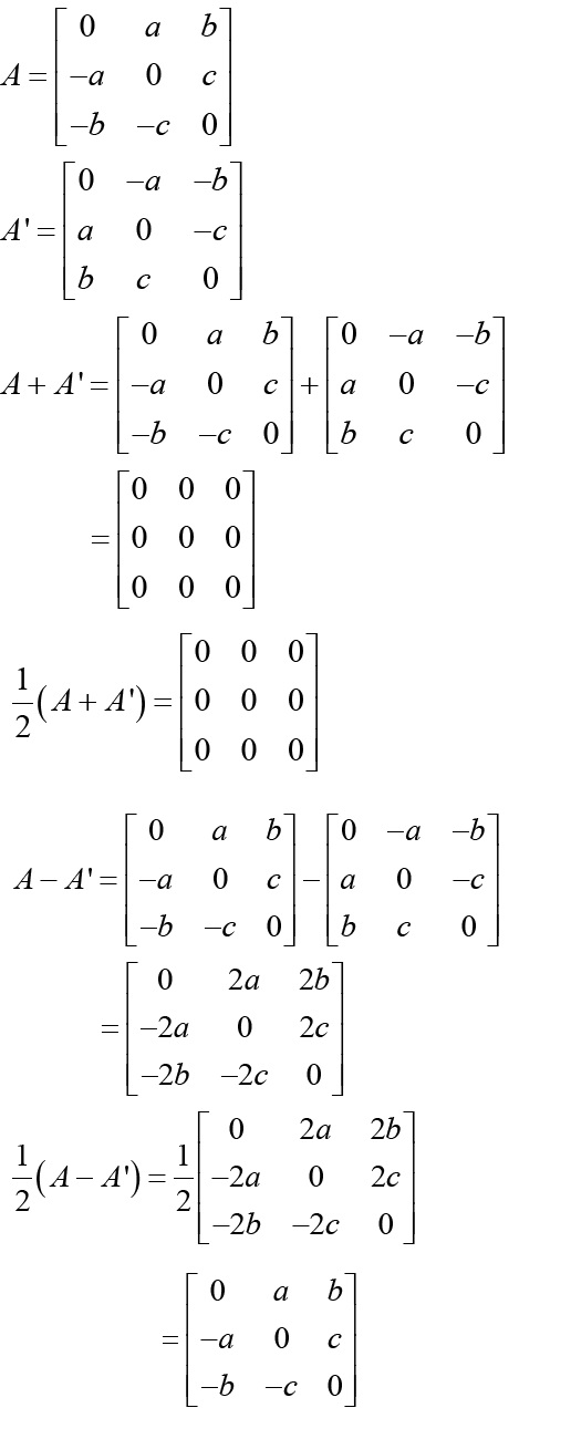 NCERT Solutions for CBSE Class 12 Mathematics ‒ Chapter 3: Matrices (Exercise 3.3, Solution 9)