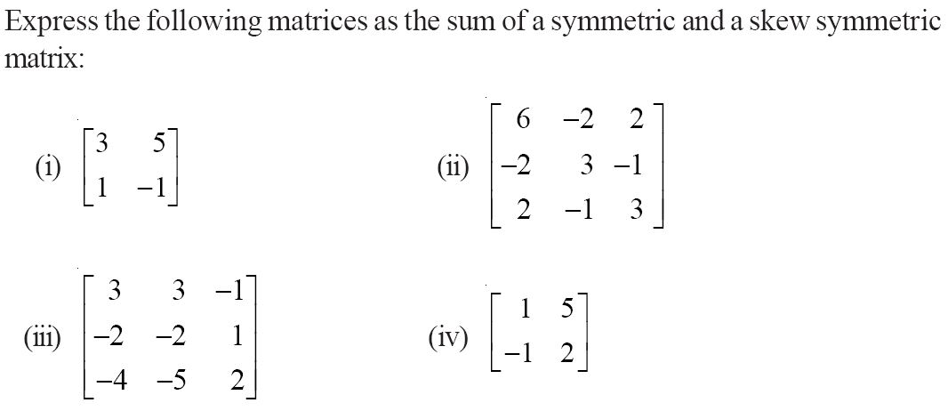 NCERT Solutions for CBSE Class 12 Mathematics ‒ Chapter 3: Matrices (Exercise 3.3, Question 10)