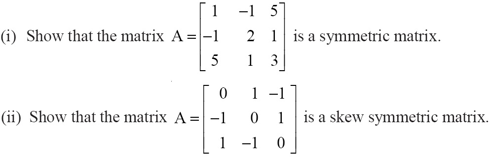 NCERT Solutions for CBSE Class 12 Mathematics ‒ Chapter 3: Matrices (Exercise 3.3, Question 7)