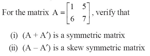 NCERT Solutions for CBSE Class 12 Mathematics ‒ Chapter 3: Matrices (Exercise 3.3, Question 8)