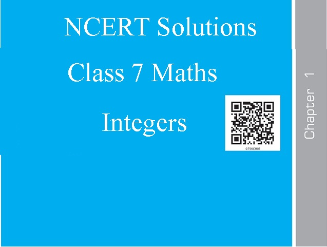 NCERT Solutions for Class 7 Maths: Chapter 1 - Integers