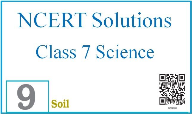 NCERT Solutions for Class 7 Science: Chapter 9 – Soil