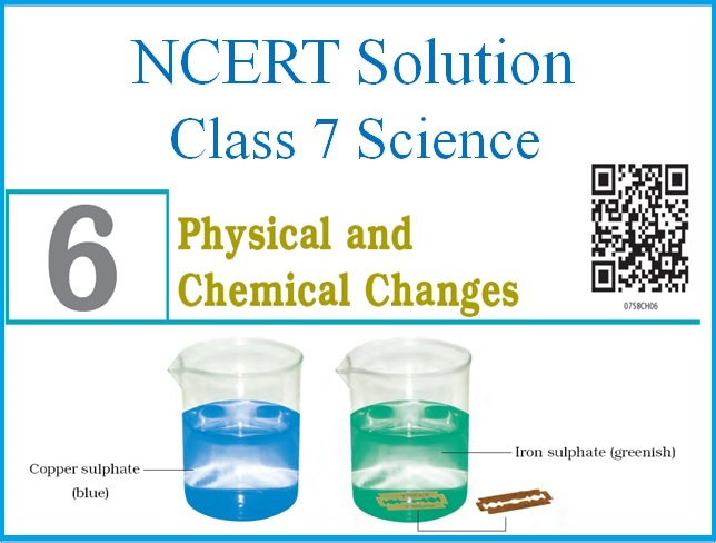 NCERT Solutions for Class 7: Chapter 6 - Physical & Chemical