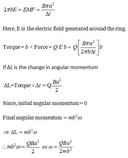 NCERT Exemplar Solutions for Class 12 Physics - Chapter 6: Electromagnetic Induction - Solution 27