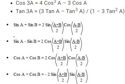 How to prepare Trigonometry for NDA exam?