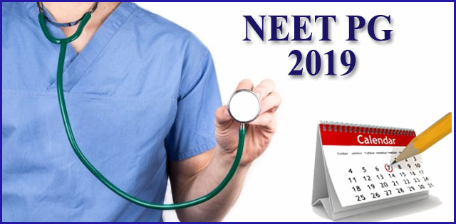 NEET 2019: Check date and time for PG and MDS examination here