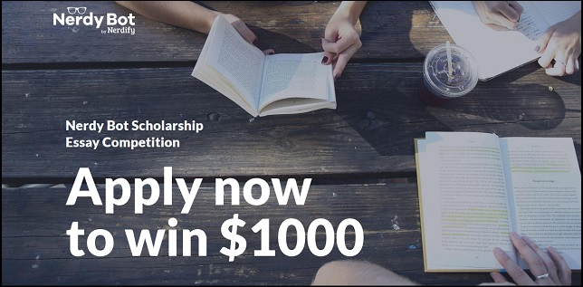 Nerdy Bot Scholarship Essay Competition 20198