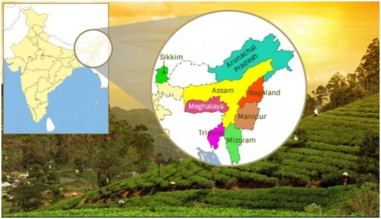 North Eastern States at a Glance: (Seven Sisters of India)
