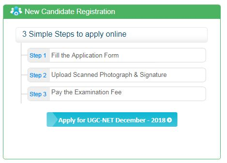 UGC Net Application