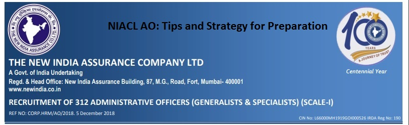 NIACL AO tips and strategy for preparation