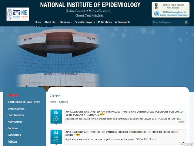 ICMR-National Institute of Epidemiology