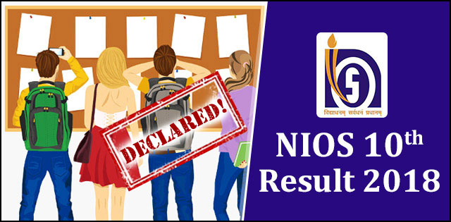 NIOS 10th Result 2018